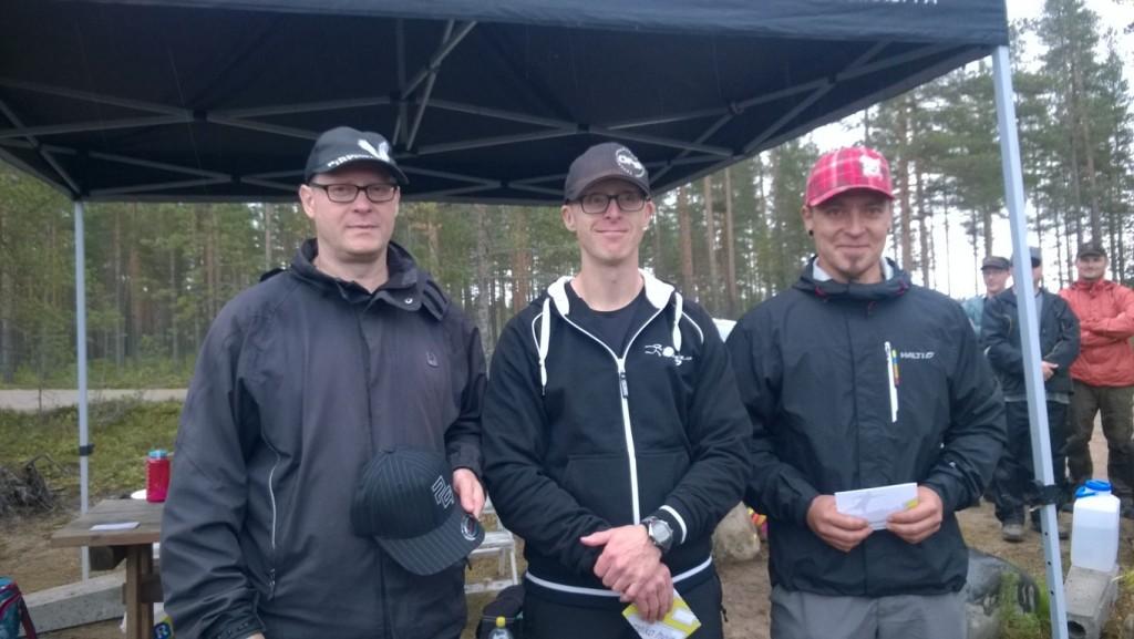 MPM-sarjan parhaat hymyilevät: Juha, Jari ja Kimmo